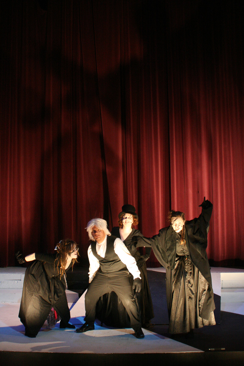 Caligari: Alaska production photo