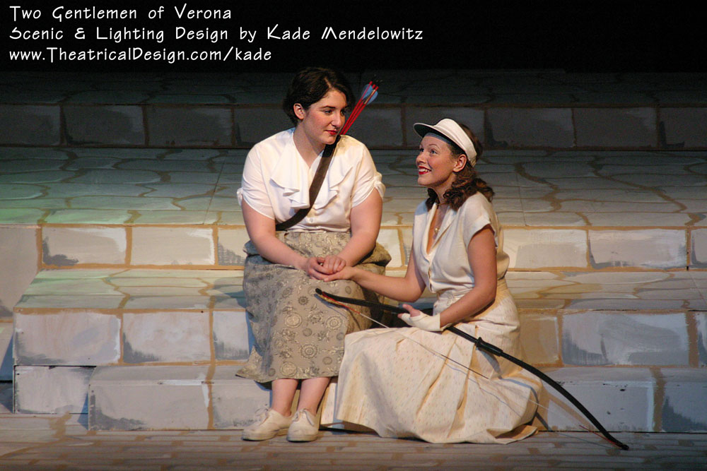 Two Gentlemen of Verona production photo