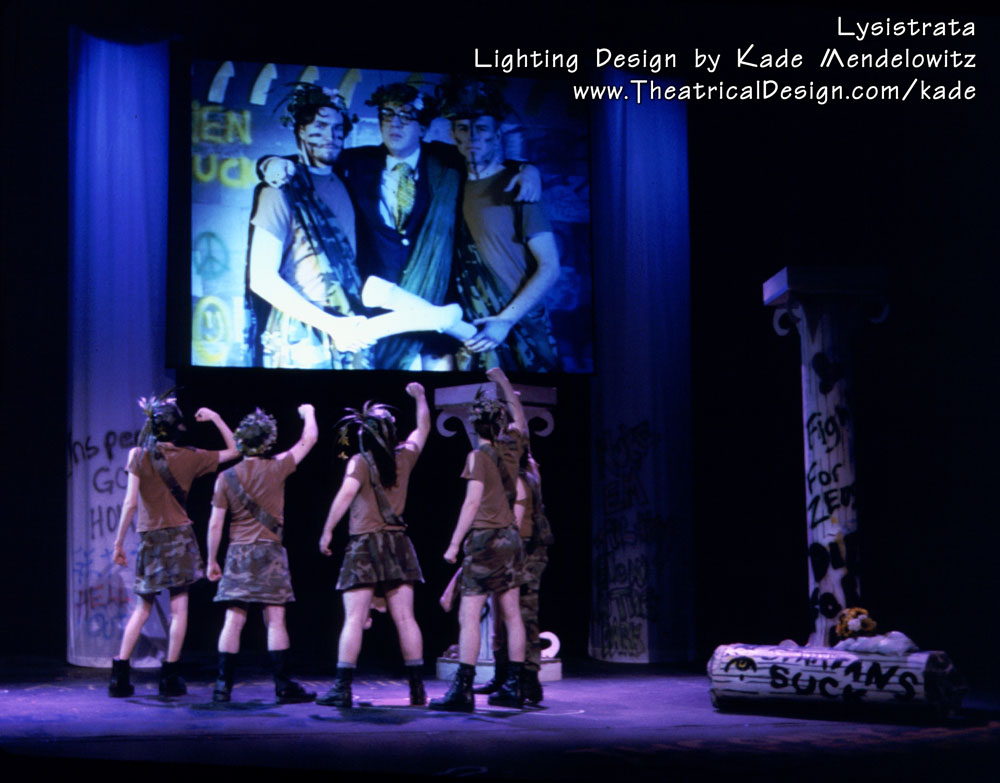 Lysistrata production photo