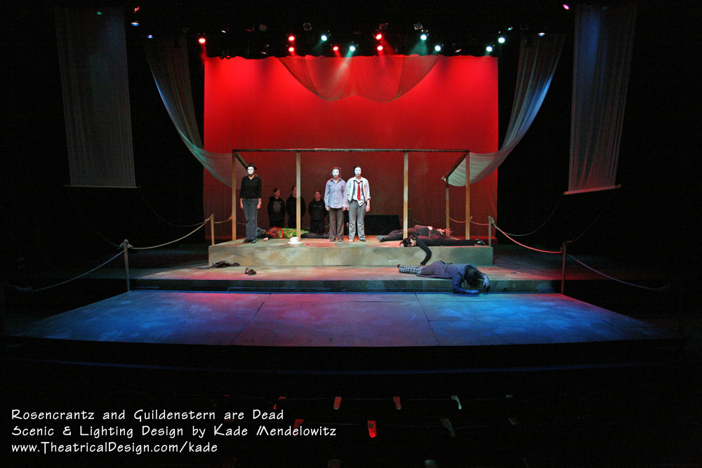 Rosencrantz and Guildenstern are Dead production photo