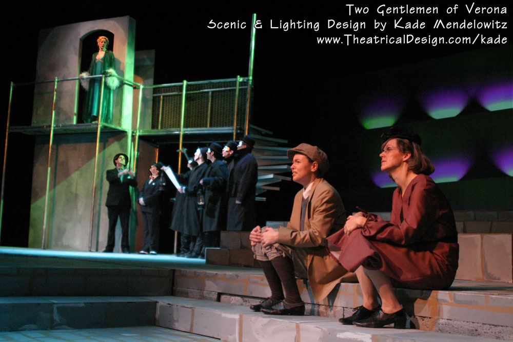 Two Gentlemen of Verona production photo