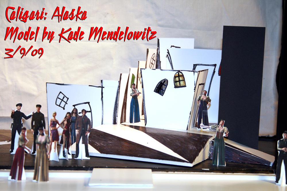 Caligari: Alaska production model