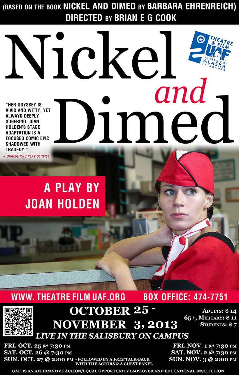 Nickel and Dimed production poster